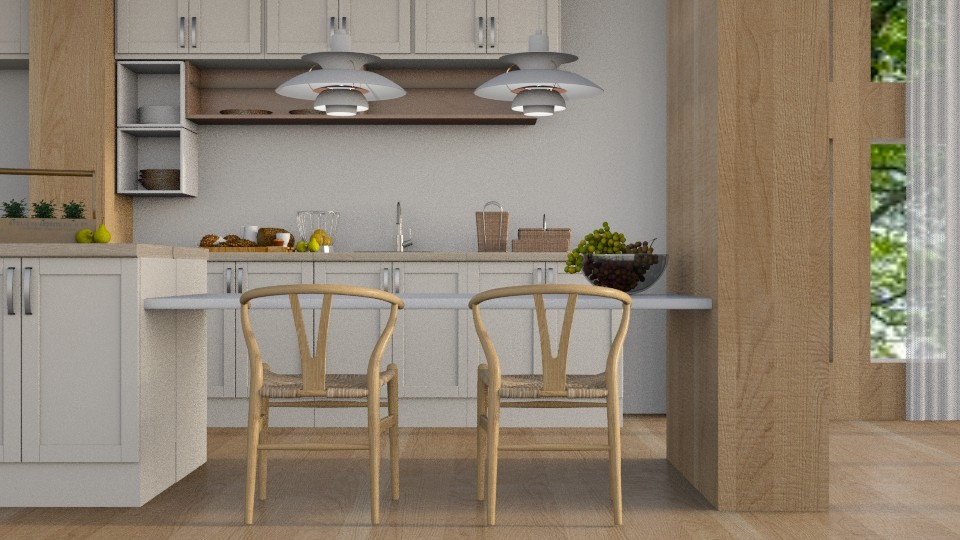 Afternoon - Rustic - Kitchen - by millerfam