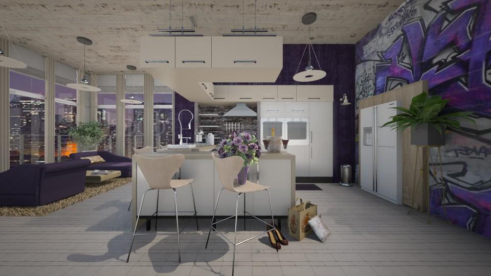 friday night - Modern - Kitchen - by starsector