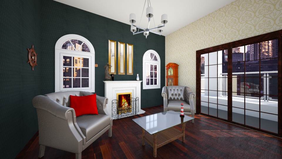 salon abuelo - Classic - Living room - by MarquiGames