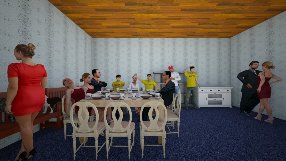 Dining room - Modern - Dining room - by Yasir Ross
