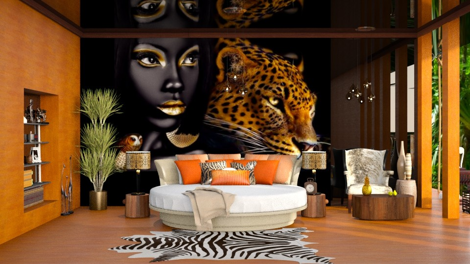afro - Eclectic - Bedroom - by soralobo