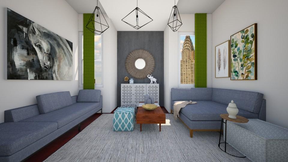 r2 - Living room - by Hadar David hay