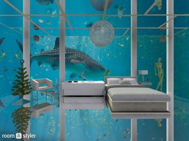 aquarium - by Patricia Mari Rosario
