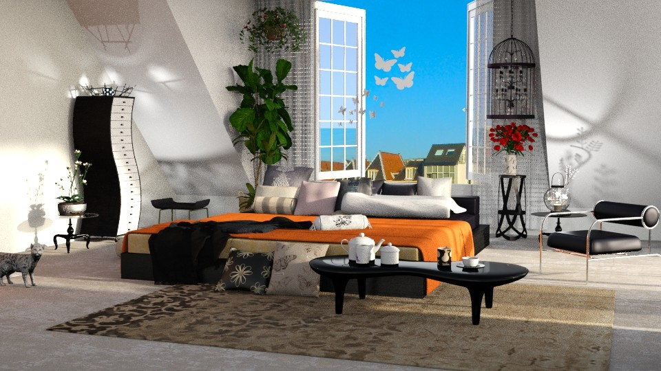 cappellini - Bedroom - by anchajaya