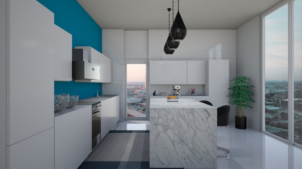 ghlk - Kitchen - by hivek93