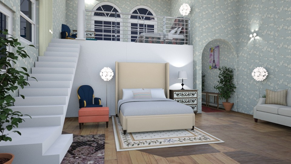 sisters2 - Bedroom - by Caye
