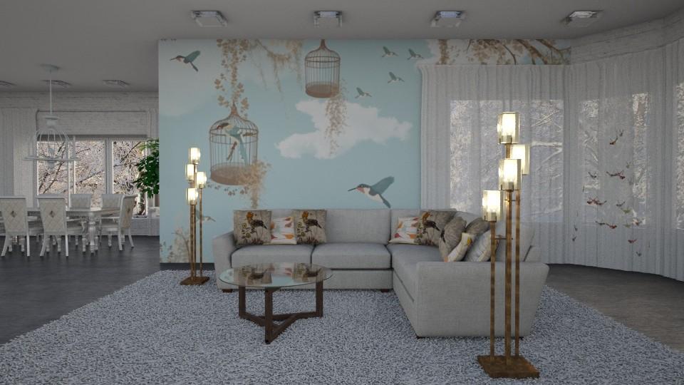 S_Bird Lover Room - by Shajia Asad