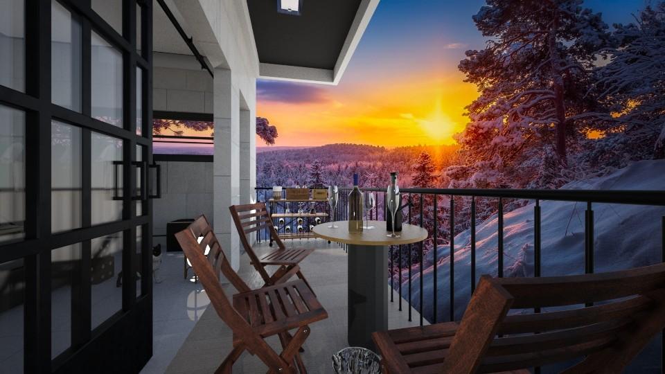 balcony - Rustic - by raissasevero