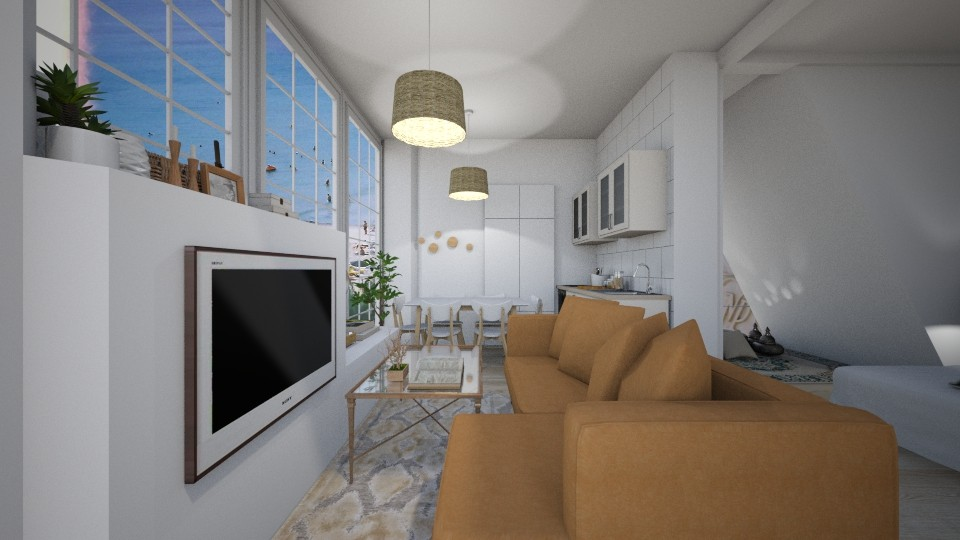 Casa184LivingRoom - Feminine - Living room - by nickynunes