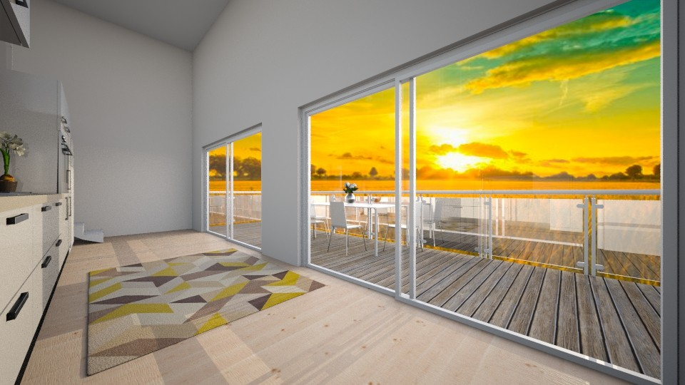 eco house - Minimal - Living room - by jjannnii