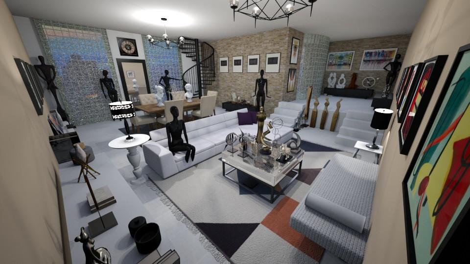 Art - Living room - by kellynazha
