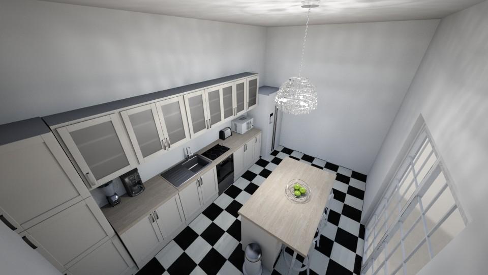 Kitchen - by NeshelleNewburn