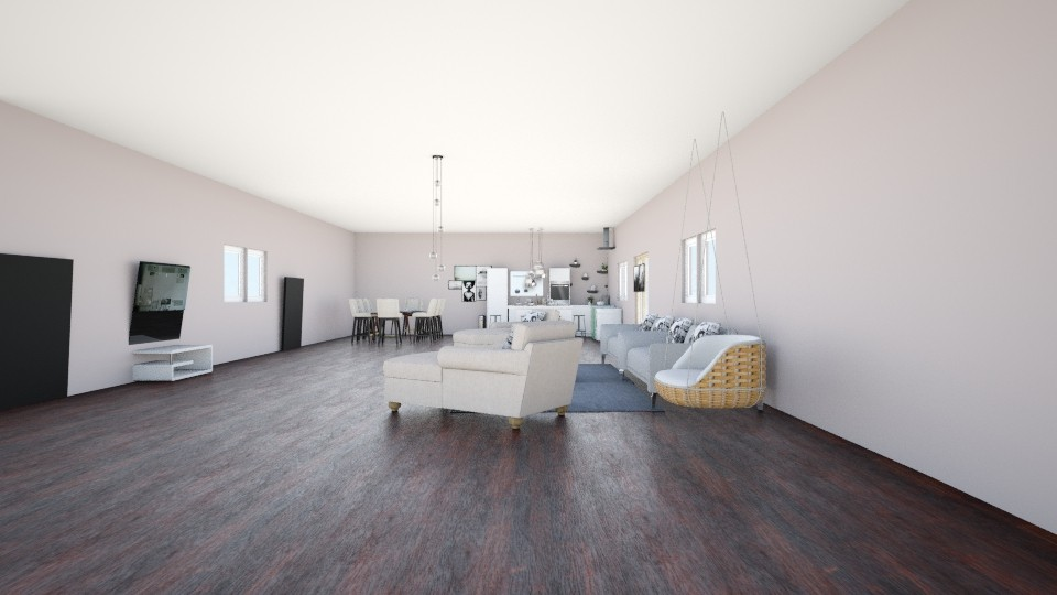 first house - Living room - by aroa fernandez