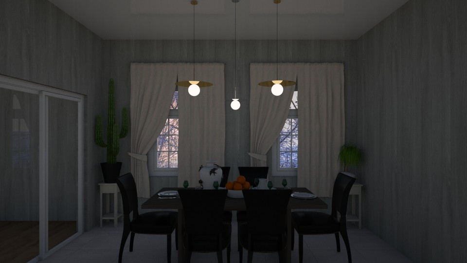 dining room - Dining room - by Vika100