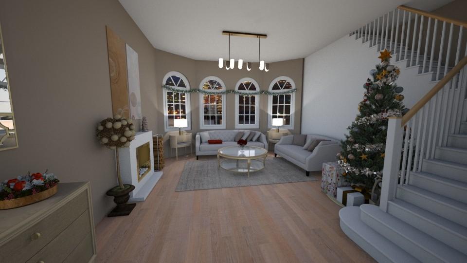 Christmas Living Room - Classic - Living room - by pfeilswdm
