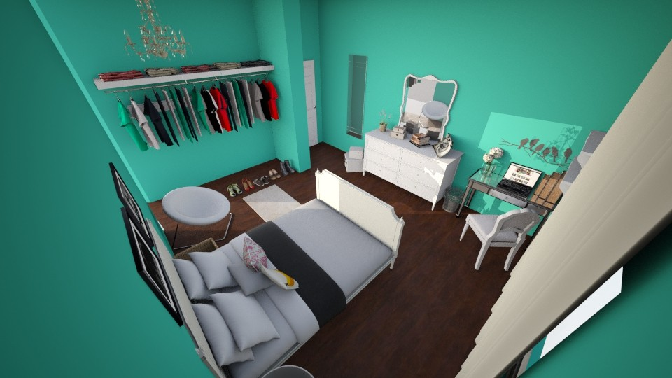 My room - Bedroom - by IvoryRose