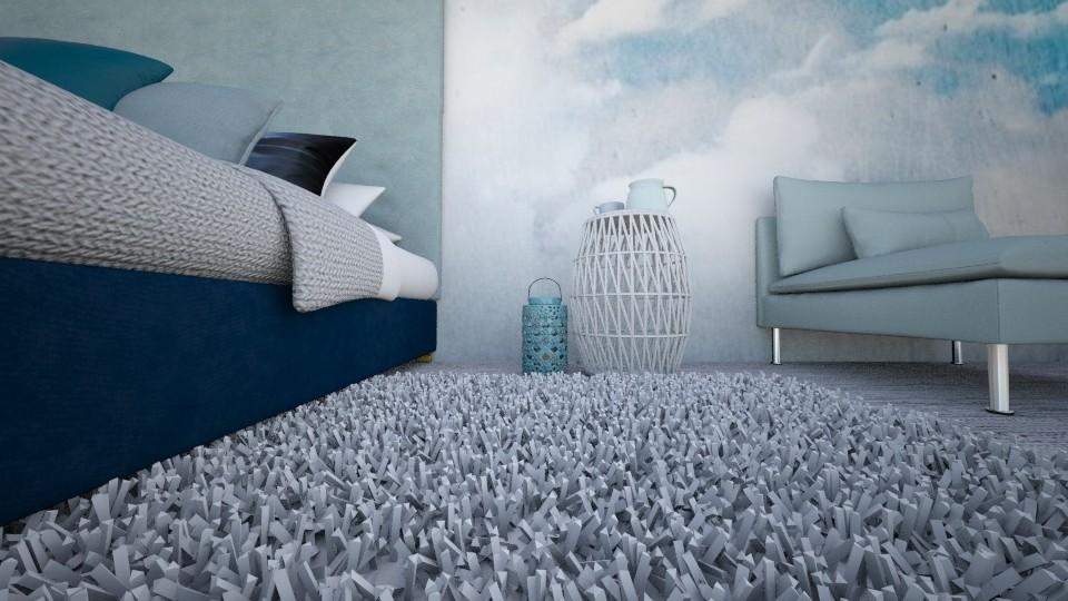Se sentant un peu bleu - Bedroom - by jojoclik