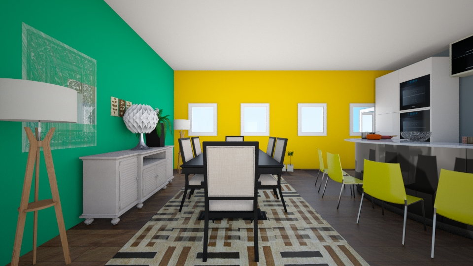dream dream - Dining room - by CasuallyCrystalClear
