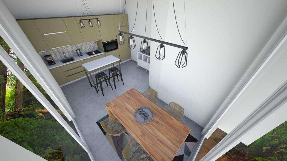 Kitchen 1 - Modern - Kitchen - by corbu_cat