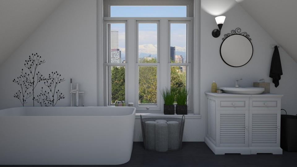 Attic bathroom - by Tuitsi