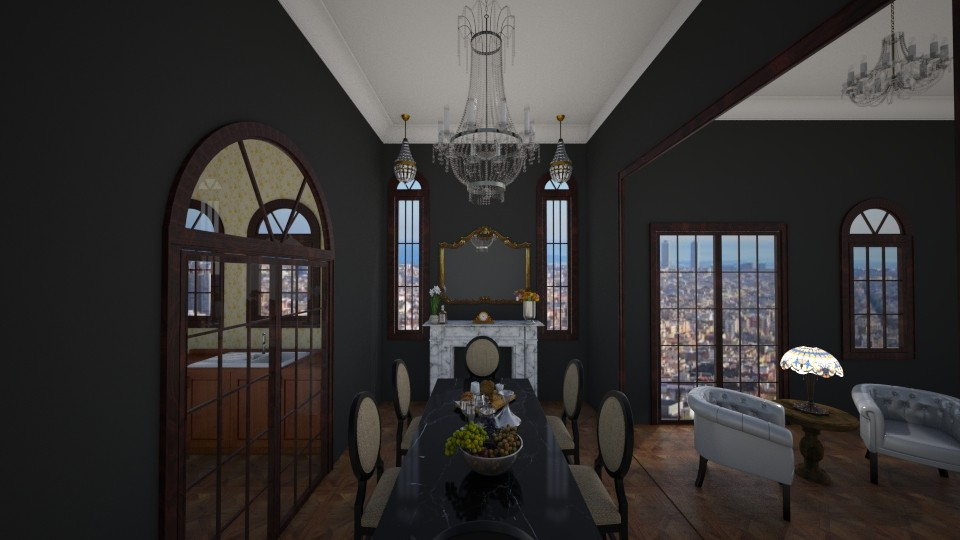 VERY FORMAL - Classic - Dining room - by MarquiGames
