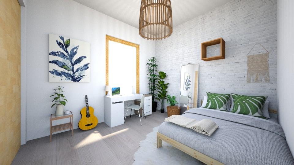 small bohemian room - Bedroom - by carleym