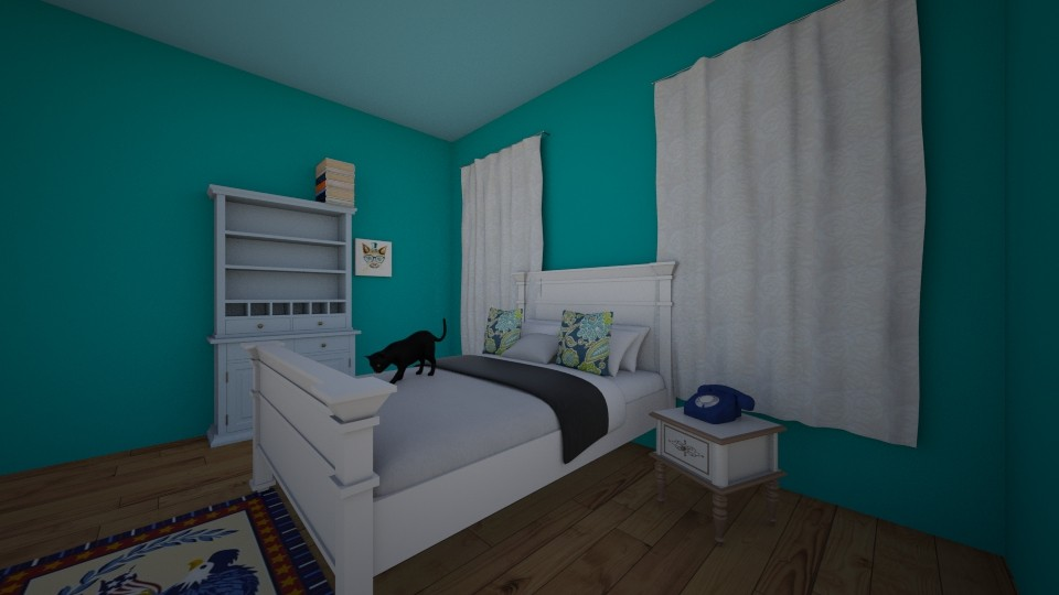 For you Uri - Modern - Bedroom - by Zombiebarbie220