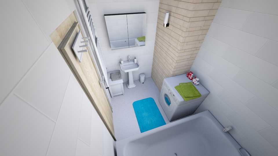 Kupelna povodna - Bathroom - by mirooo156