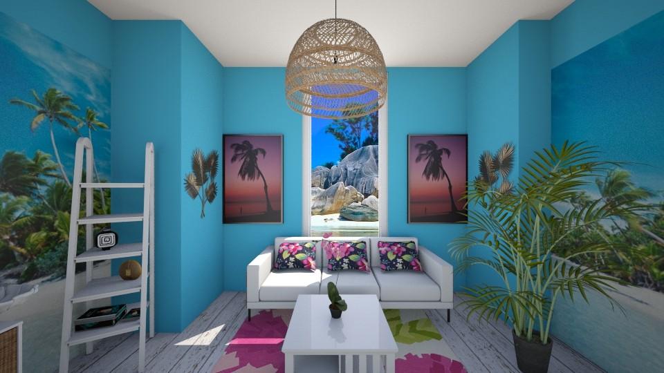 tropical livingroom - Living room - by sirtsu