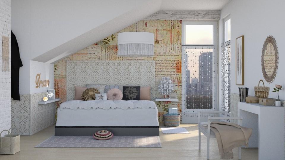 Boho Bedroom - by ariema