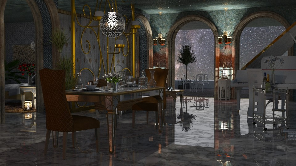 Jayanights6casablancairay - Glamour - Dining room - by anchajaya