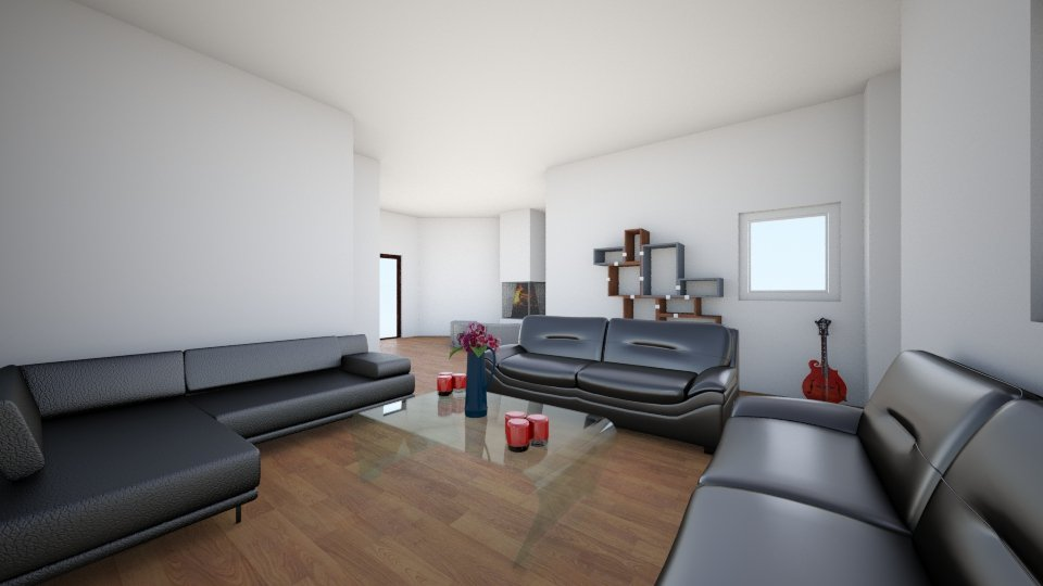 3 - Living room - by Domenica Molina