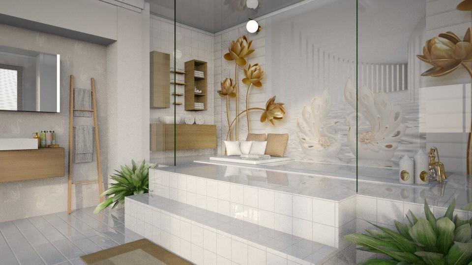 Swan - Bathroom - by bigmama14