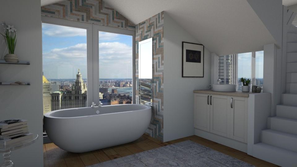 Bathroom 101 - Modern - Bathroom - by AnnamariMay