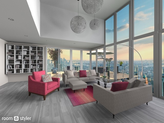 Tulip - Modern - Living room - by Saharasaraharas