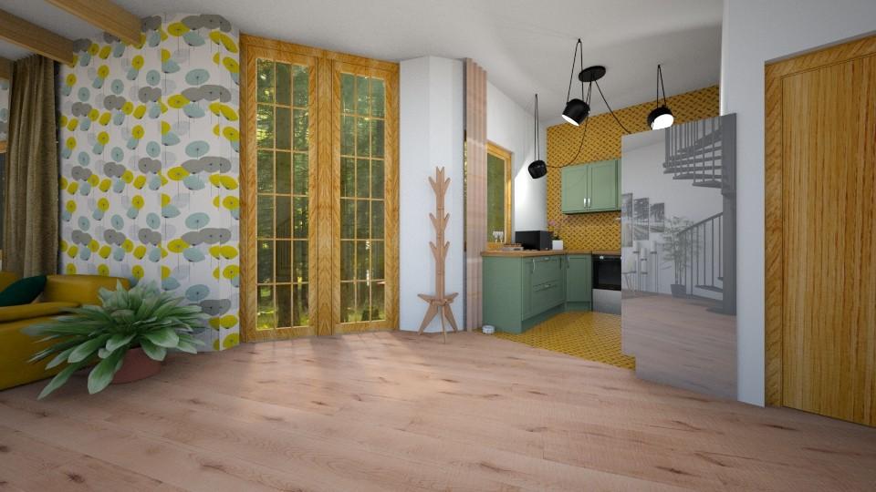 Kitchen1 - by Ana Cazacu