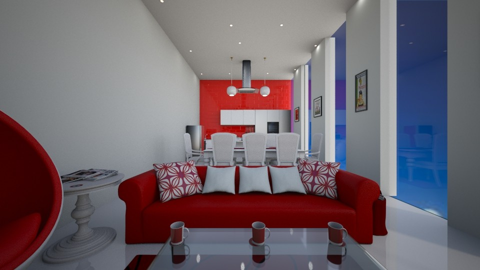 Red Fury - by Lolo Loves Interior Design