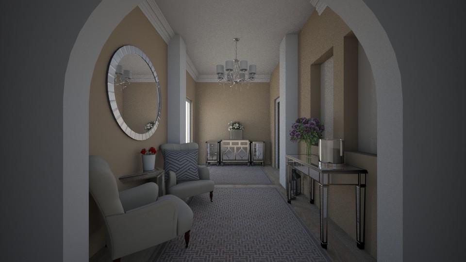 HALLWAY  - Living room - by MadebyG