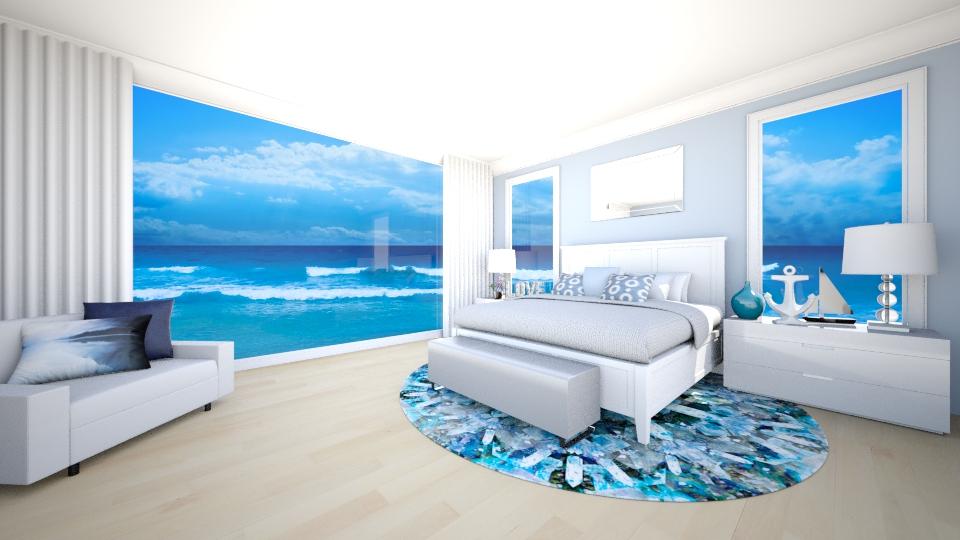 Beach Getaway - Bedroom - by jessicabaucke