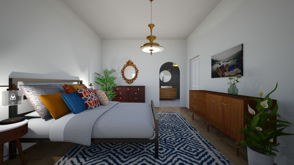 Mix of Styles - Retro - Bedroom - by Ster