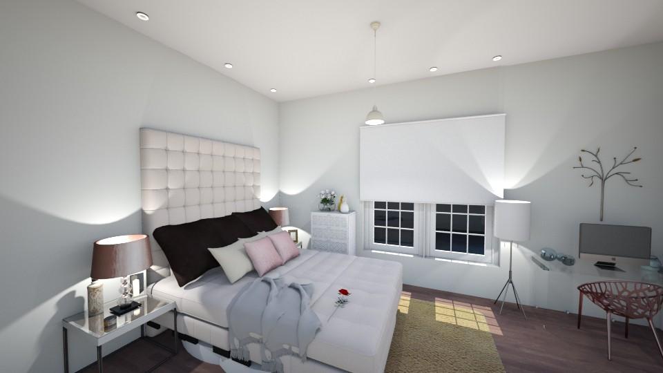 bed - Bedroom - by kimberlyatenea13