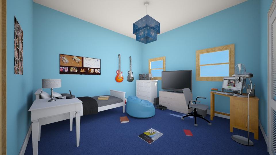 Teen room - Bedroom - by Jessica Lyn