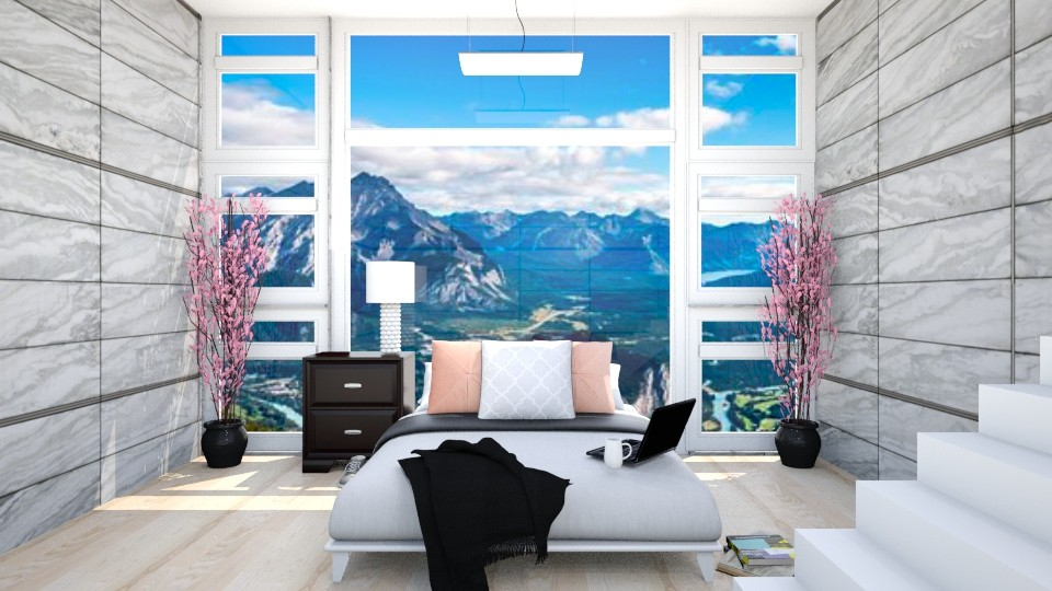 Modern Mountain - Bedroom - by Design_CG