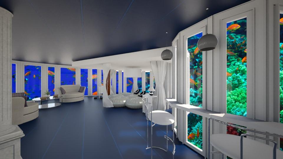 水世界 - Bedroom - by Ni NI