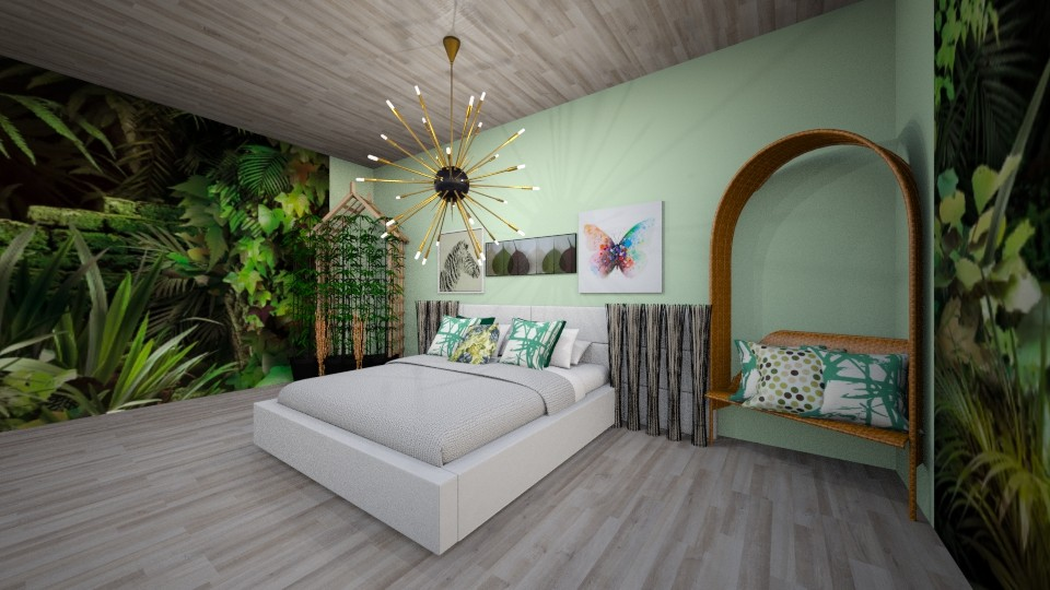 urban jungle - Bedroom - by R A I N A