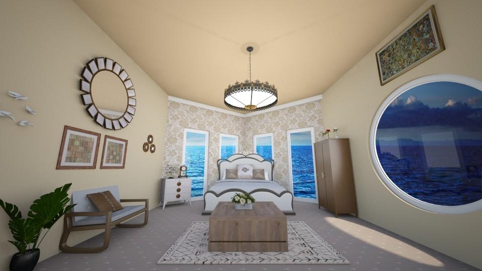 yacht bedroom - Modern - Bedroom - by zayneb_17