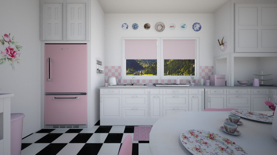 1950s Kitchen - Kitchen - by sissybee
