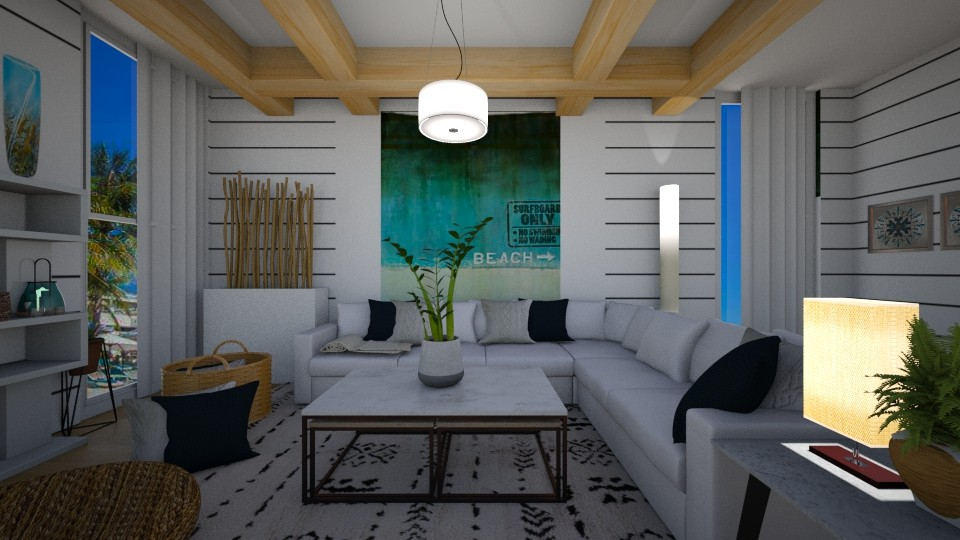 Beach Front Design - by Teejay253