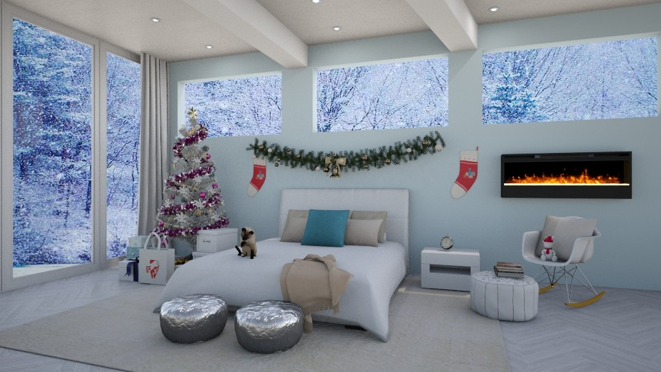 XY Christmas Edition - Modern - Bedroom - by bgref