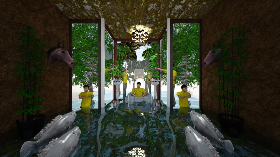 Temple of Warning Hark - Eclectic - Garden - by Wayfarer of Rither Fall